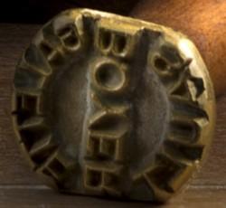 Un modèle de sceau à galettes, encore utilisé aujourd'hui