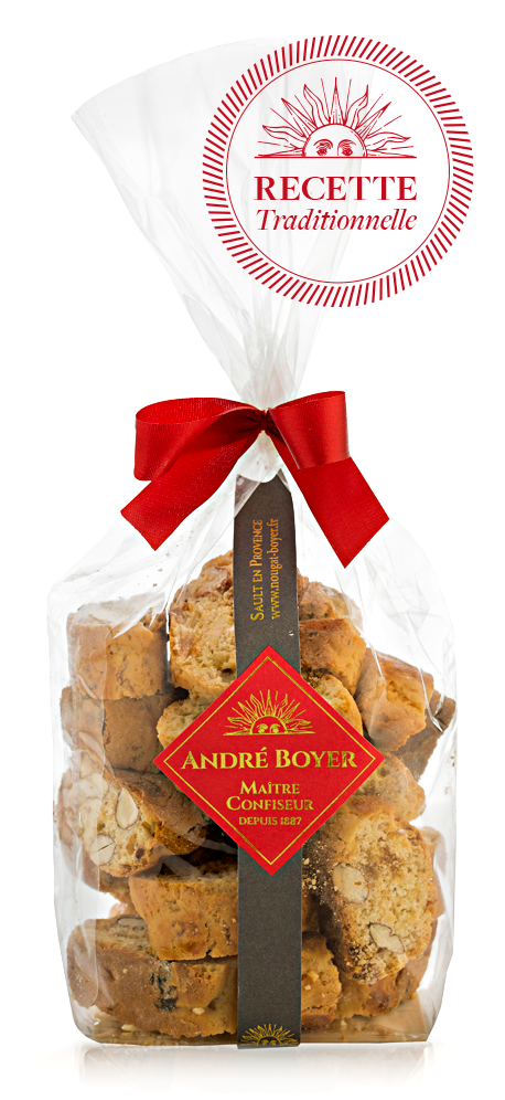 200g bag Provence almond crunchy Biscuits - André Boyer