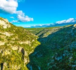 Les gorges de la Nesque, Site naturel classé Réserve de Biosphère par l'UNESCO en 1990