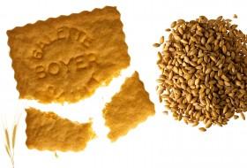 Galettes à la farine de petit épeautre de Sault et arôme naturel de Vanille